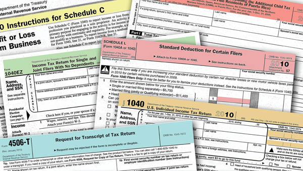 2017 IRS Tax Forms Due Dates