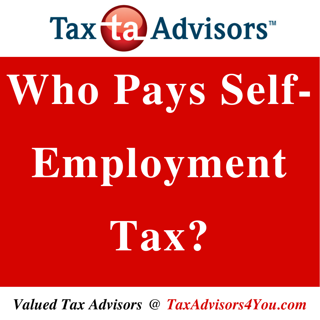 Who Pays Self-Employment-Tax